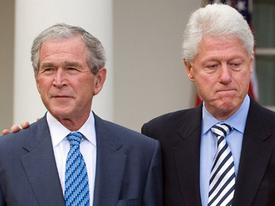 bush-clinton-bill-george